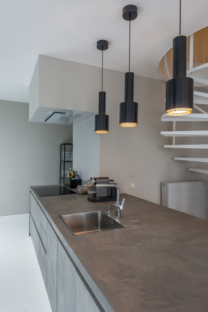 Kitchen Design by Mabella Artisans for Renovation Project antwerp - Belgium